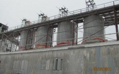 Mississippi Lime Old Kiln Building Demolition